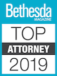 Bethesda Magazine Top Attorney 2019 Badge